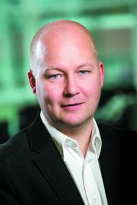 Fredric Johansson,  e-handelsansvarig på Runelandhs