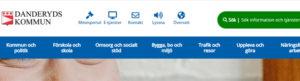 Case: Målsättning & Metod för Danderyds webbplats och intranät.