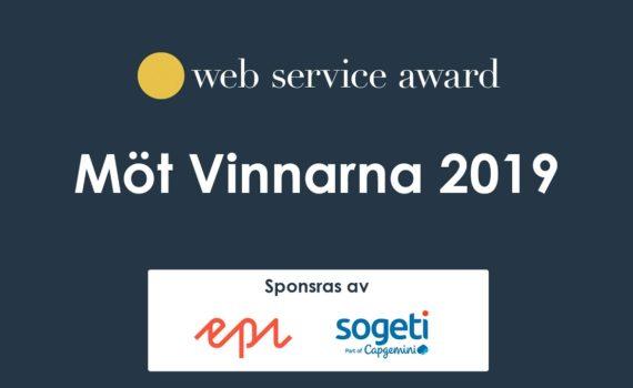 Live-sändning Möt vinnarna av Web Service Award nu kl 08:30