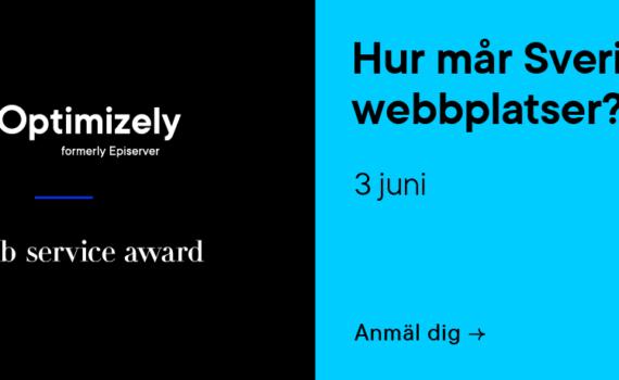 Optimizely webbinar 3 juni – Hur mår Sveriges webbplatser?