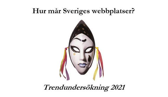 Ny trendrapport: Hur mår Sveriges webbplatser 2021
