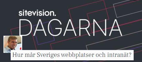 SiteVision-dagarna 19- 20 oktober